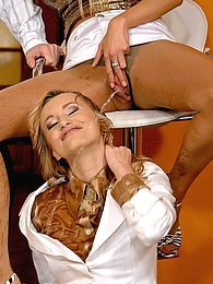 A kinky dude enjoys pissing on two horny girls hardcore pictures at kilopills.com
