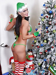 A Santa Slutty Elf Pics - Jessica Jaymes pictures at freelingerie.us
