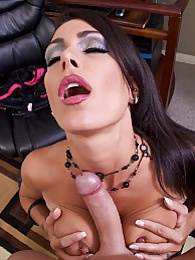 Jessica Drives Me Nut Pics - Jessica Jaymes has been HARD at work all day for you and needs a little pleasure herself pictures at very-sexy.com