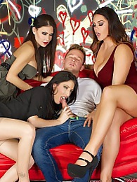 Jessica Dava Alison Fuck The Painter Pics pictures at kilovideos.com