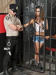 Cell Block XXX Pics - Cellblock sisters Jessica Jaymes and Gabby Quinteros pictures at lingerie-mania.com