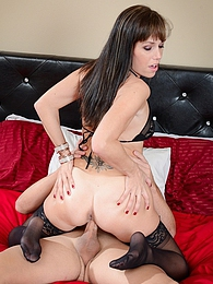 Alana Cruise StepMother P - seduced and fucks her stepson pictures at freekilomovies.com
