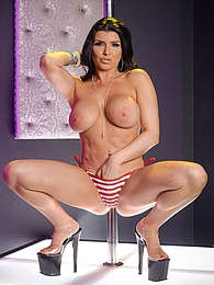 Romi Rain Birthday Stripper P - sucking your cock and fucking you pictures at lingerie-mania.com