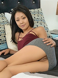 Saya Song Phone Hookup P - big fat cock sucked and filling her tight little Asian pussy pics