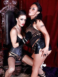 The Queen Vampire Pics - Jessica Jaymes and Mariah Milano pictures