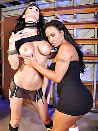 Trashy Whores Pics - Jessica Jaymes and Mariah Milano pictures