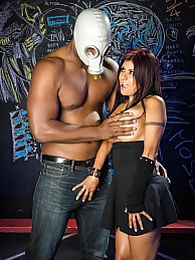 Gabby Evil Horror P - takes an puddy pounding from our boy pictures at lingerie-mania.com