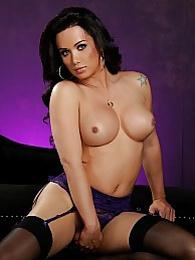 Brunette cutie Bianka masturbating pictures at find-best-tits.com