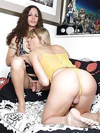 Sexy Nicole Montero fucking amazing Angelina Torres pictures