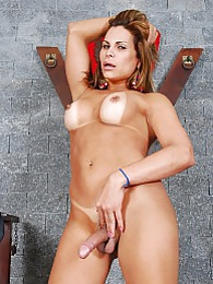 Officer Viviane stripping and posing her goodies pictures at find-best-videos.com