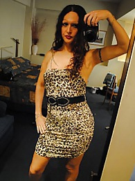 Gorgeous Nicole Montero posing in hot dresses pictures at freekilosex.com