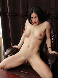 MILF Isabella Rodriguez masturbates with sex toy pictures at freekilosex.com
