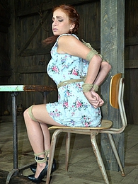 Ashley in a Trap pictures at dailyadult.info