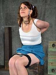 Chelsea Gets Roughly Interrogated pictures at freekilosex.com