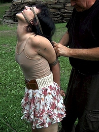 Katharine Cane Gets Stretched pictures at adspics.com