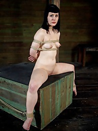 Katharine Cane is Caned & Trained pictures at lingerie-mania.com