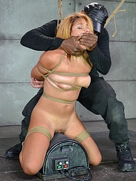 Liv Aguilera Gets Seduced Into Subspace pictures at freekiloclips.com