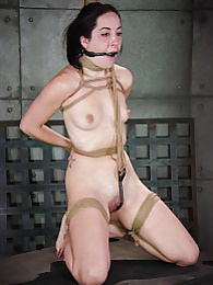 Blaze-in Bondage pictures at lingerie-mania.com