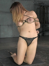 Rope Slut pictures at lingerie-mania.com
