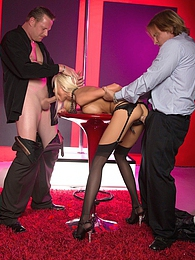 Rikki First BBG Pics - Sexy blond bombshell Rikki Six pictures at kilovideos.com