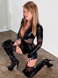 Black Latex pictures at find-best-mature.com