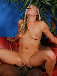 Tricia Marx in interracial fuck eats cum pictures at adspics.com