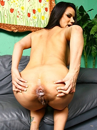Nadia Styles interracial anal creampie pictures at freelingerie.us