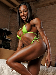 Ebony hottie Natalia Coxxx posing her sweet body pictures at lingerie-mania.com