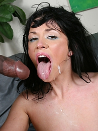 Two big black cocks invade little white girl Andy San Dimas pictures at find-best-pussy.com
