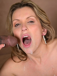 Stunning blonde Courtney Cummz rides a big black cock until it detonates in her face pictures at freekilosex.com