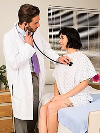 Olive Glass went to the hospital for an exam and got his dick instead pictures at kilovideos.com