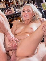 MILF fucks her sex therapist�s son and takes a double facial pictures at dailyadult.info