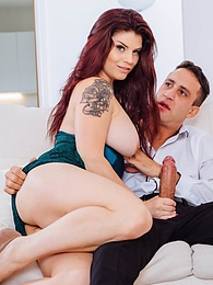 Sexy Brunette Lucia Love Has Anal Sex With a Married Man pictures at freekiloclips.com