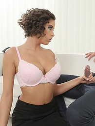 Czech Fuck Doll Ana Bell Evans Wants Cum on her Big Tits pictures at lingerie-mania.com