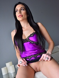 Smooth As Satin pictures at lingerie-mania.com