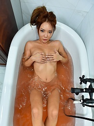 A Colorful Bath pictures at find-best-pussy.com