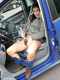 Parking Pleasure pictures at lingerie-mania.com