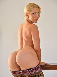 Ashley Sexy Stripes pictures at kilosex.com