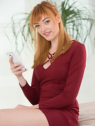 Redhead Cock Hungry Slut Teen Aurora Cheats On her Boyfriend pictures at freekilosex.com
