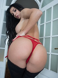 Brunette Slut Perfect Ass Susy Gala Has Her Pussy Filled Up pictures