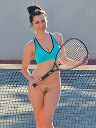 Buttalicious Tennis pictures at lingerie-mania.com