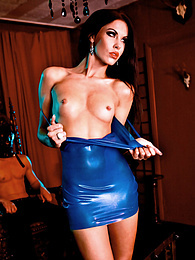 Gimp Punishes Fetish Slut Megan Coxxx and Cums all Over Her pictures at kilogirls.com