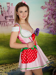 This hottie likes her culture and embraces it by stripping off her nice folk clothing pictures at kilogirls.com