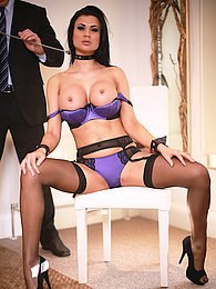 Big Breasted Superstar Jasmine Jae Pleasured by Stiff Cock pictures at freekilosex.com