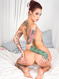 First Scene for Young Teen Luna Rival & Tattooed Silvia Rubi pictures at adipics.com