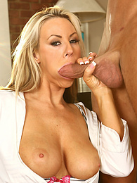 Cock Hungry Slutty Receptionist Carolyn Rese Loves Big Cock pictures at freekilomovies.com