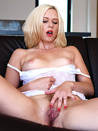 Blonde Nympho Anna Joy Gets Destroyed By a Friend's Big Dick pictures at adspics.com