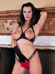 Cougar Brunette Slut Angie George Loves Some Fetish Anal pictures at find-best-panties.com