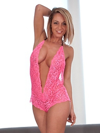 Pink Teddy pictures at lingerie-mania.com