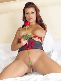 Briana Lee Extreme Rose pictures at adipics.com